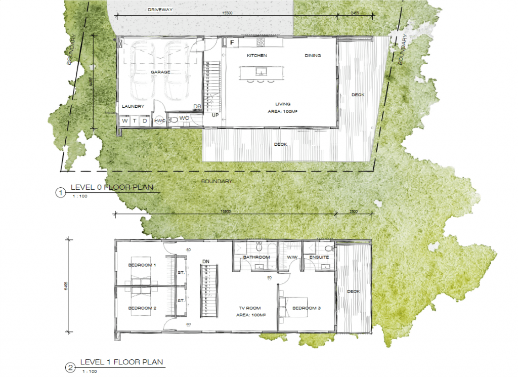 Concept site plan for Design and Build