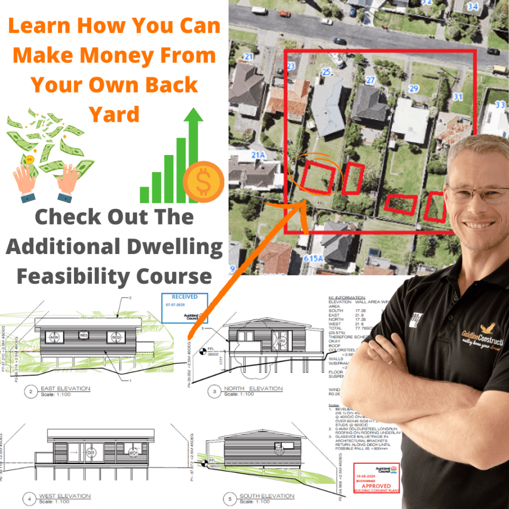 Advertising the Additional Dwelling Feasibility Course