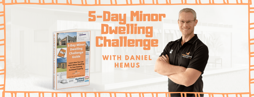 Image of the 5-Day Minor Dwelling Challenge graphic